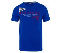 T-Shirt Ahead blau