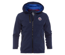 Softshelljacke Crew Men blau
