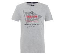 T-Shirt Rough Sea Crew grau