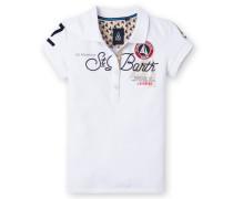 Poloshirt Bruna Girls Mädchen weiss