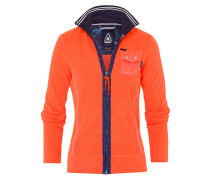Fleecejacke Growing orange