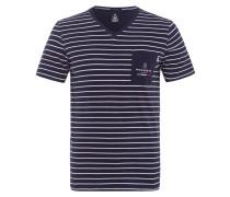 T-Shirt Derrick blau
