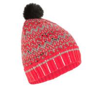 Mütze Echo Jacquard rot