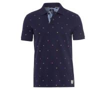 Poloshirt Jetsam blau