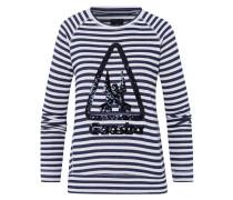 Sweatshirt Cavitate blau