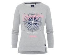 Sweatshirt Stern Solid grau