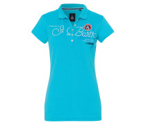Poloshirt Bruna blau