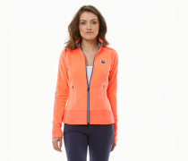Fleecejacke Growing Horizons orange