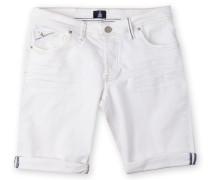 Shorts Cutter White Denim