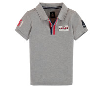Poloshirt Windmotion Boys Jungen grau