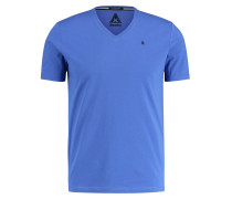 T-Shirt Royal Sea V-Neck blau