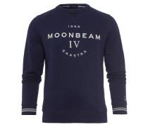 Sweatshirt Decker blau