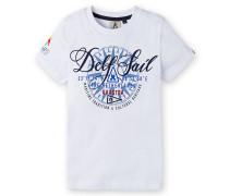 T-Shirt DelfSail Kids weiß unisex