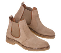 Ankle Boots Bridle Suede beige