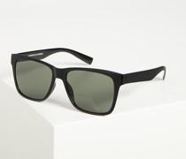 Sonnenbrille schwarz/grün