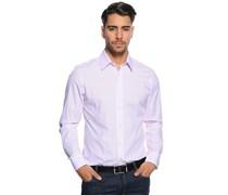 Hemd Regular Fit, weiß/rosa gestreift, Herren