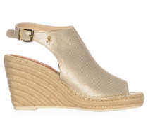Wedges, gold, Damen