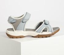 Sandalen graublau