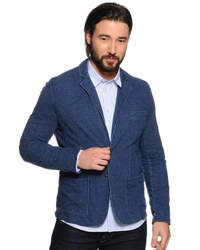 pepe jeans herren sakko blau herren 40 reduziert. Black Bedroom Furniture Sets. Home Design Ideas