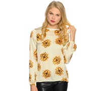 Blusenshirt, beige, Damen