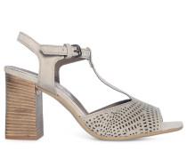Sandaletten, Weiss, Damen