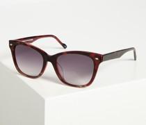 Sonnenbrille bordeaux/schwarz