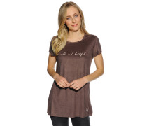 T-Shirt, Braun, Damen