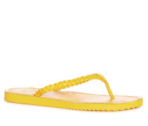 Zehentrenner gelb