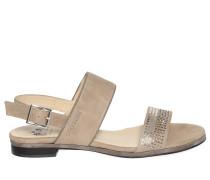 Sandalen, taupe, Damen