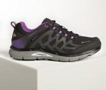 Sneaker schwarz/lila
