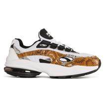 Sneaker weiß/schwarz/braun