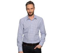 Hemd Regular Fit, Blau, Herren