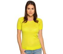 Strickshirt, Gelb, Damen