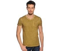 T-Shirt, oliv, Herren
