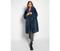Mantel jeansblau