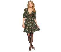 Kleid, khaki/multi, Damen