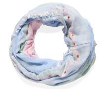 Loopschal, rosa/hellblau, Damen