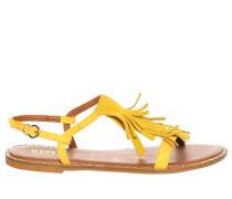 Sandalen, gelb, Damen