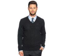 Pullover, anthrazit, Herren