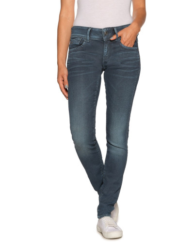 Jeans Lynn Mid Skinny Women blau