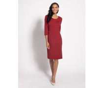 Business Kleid rot