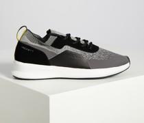 Sneaker grau/schwarz