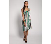 Kleid grün/mehrfarbig