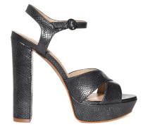 Sandaletten, Grau, Damen