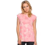 T-Shirt, rosa/beige, Damen