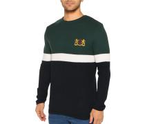 Pullover navy/grün