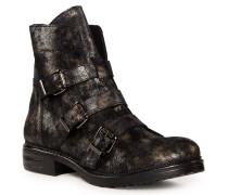 Boots silber/schwarz