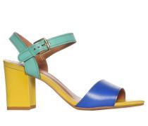 Sandaletten, Mehrfarbig, Damen