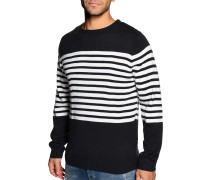 Pullover navy/offwhite