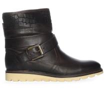 Boots, dunkelbraun, Damen